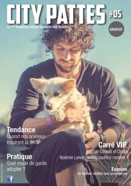Couverture magazine City Pattes