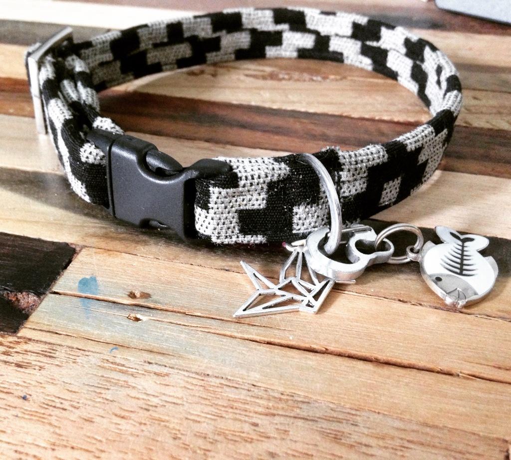 Comment Fabriquer Un Accroche Torchon diy collier en tissu – my dog is a queen