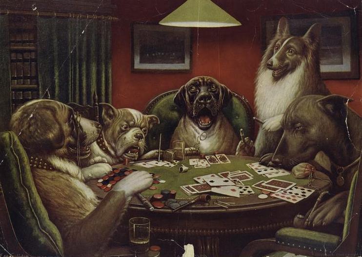 A_Waterloo_Dogs_Playing_Poker