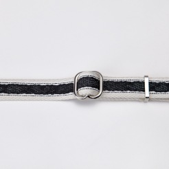 05 51 C7 Dog Collar Hugo Webbing Black Detail2 SCREEN
